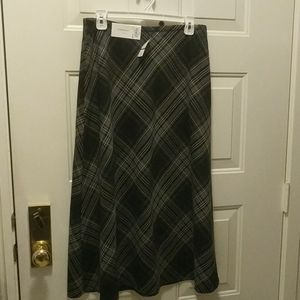 NWT size 8 Croft & Barrow women's maxi skirt